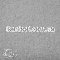 Ткань Мех искусственный Барашек (белый)