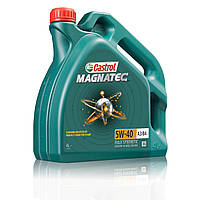 Моторное масло для двигателя Castrol (Кастрол) Magnatec 5W40 A3/B4 4литра