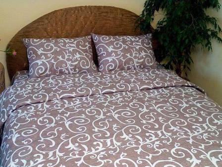 Семейное постельное белье Вензель Gold, фото 2