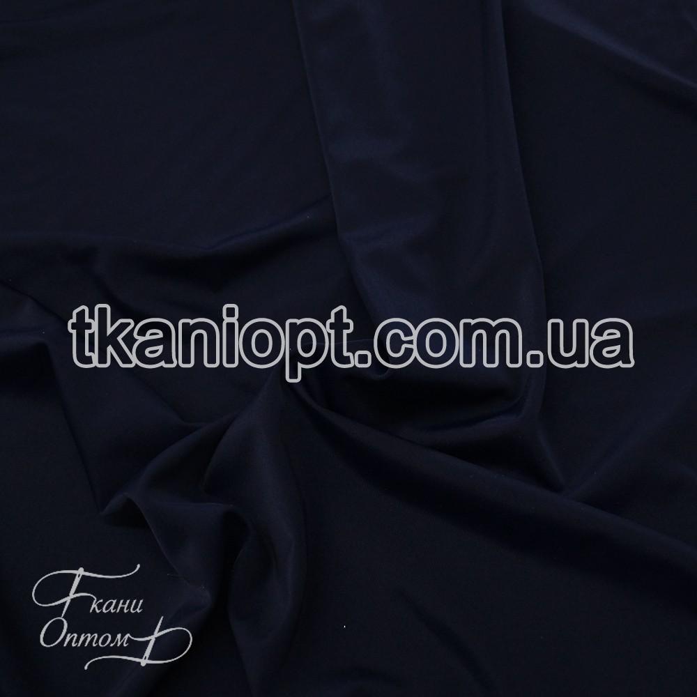 Ткань Бифлекс матовый (темно-синий)