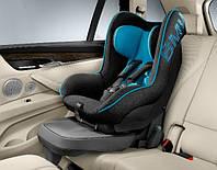 Детское автокресло BMW Junior Seat I + ISOFIX Black/Blue