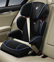Детское автокресло BMW Junior Seat II-III Black-Blue