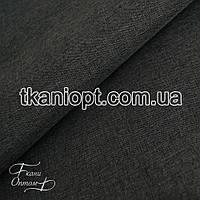 Ткань Плащевка меланж (темно-серый)