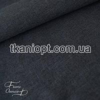 Ткань Плащевка меланж (темно-синий)