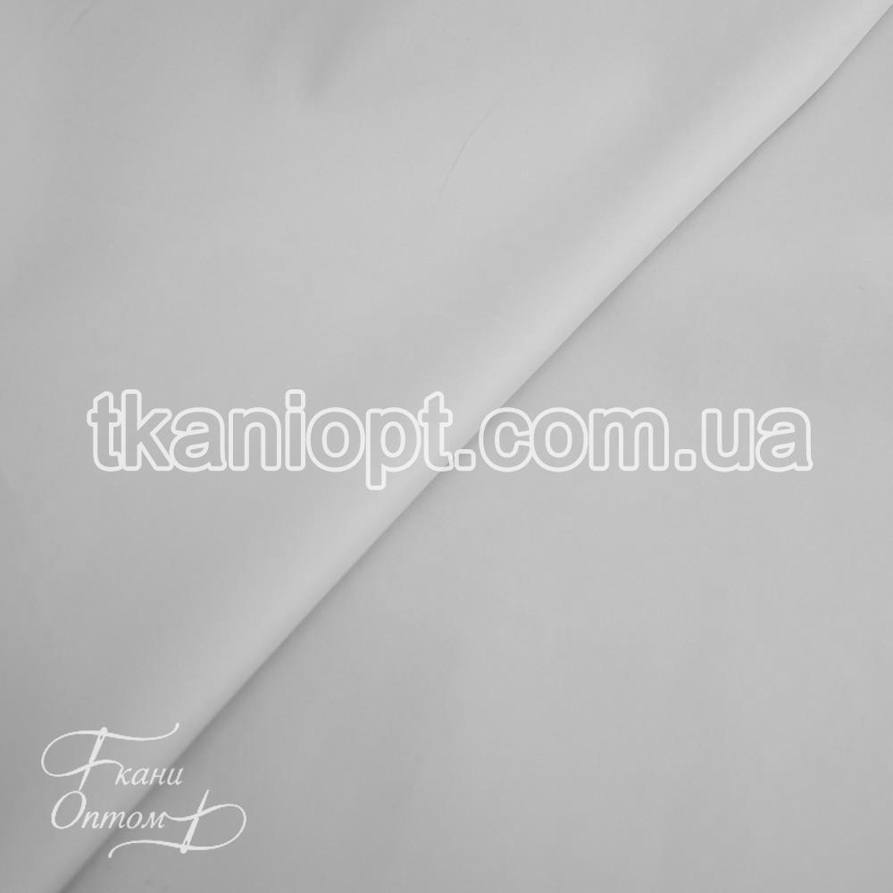 Ткань Плащевка мемори на интерлоке президент (белый)