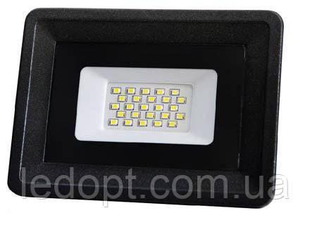 Светодиодный прожектор 20W  LED SMD Black