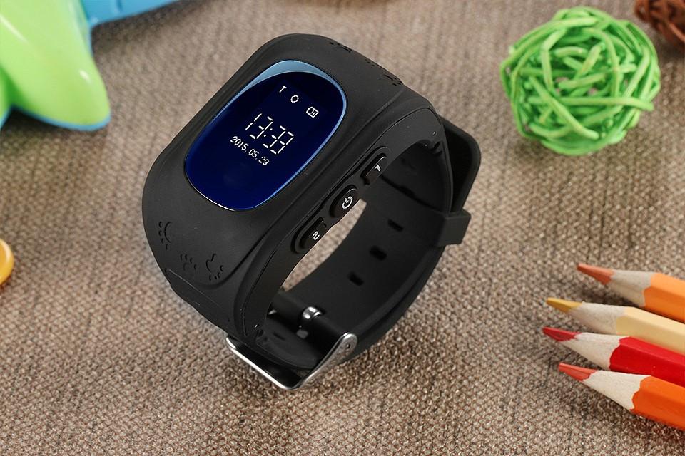 Детские умные GPS смарт часы Smart baby watch Q50 с трекером отслеживания - русская версия
