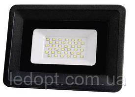 Светодиодный прожектор 30W  LED SMD Black