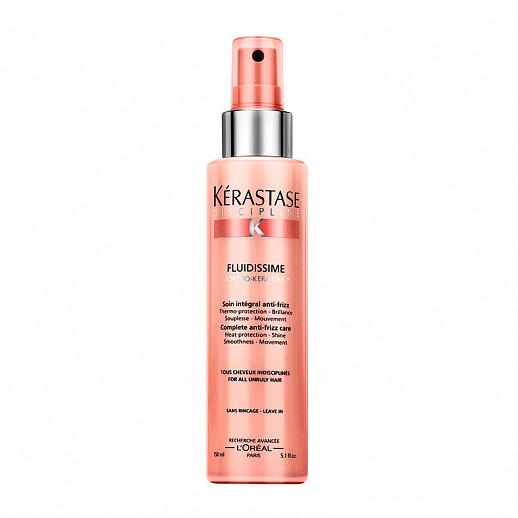 Спрей-термозащита для непослушных волос Kerastase Discipline Fluidissime Anti-Frizz 200 мл
