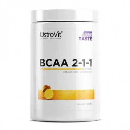 Extra Pure BCAA 2:1:1 OstroVit (pure, orange, lemon), фото 2