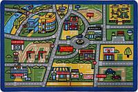 Детский ковер Traffic blue