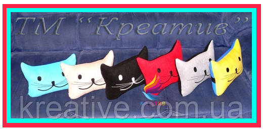 Подушки для автосалона декоративные с Вашим логотипом (от 100 шт)