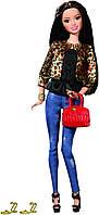 "Кукла Барби ""Модница Делюкс"" Ракель (Barbie Style Raquelle Doll, Leopard Print Jacket)"
