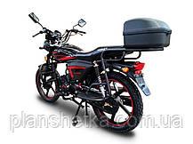 Мотоцикл HORNET Alpha 125 куб.см, черный, фото 3