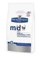 Лечебный корм для кошек Hills Prescription Diet Feline m/d
