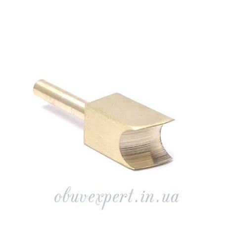 Насадка для паяльника латунная U-образной формы 7 мм для обработки уреза, фото 2
