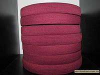 Резинка цветная 3см (40м) бордо