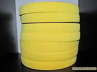 Резинка цветная 3см (40м) желтый
