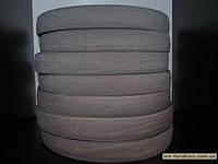 Резинка цветная 3см (40м) серый