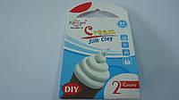 """Застывающий шелковый пластилин """" Мороженое Silk Clay Cream """",набор для лепки.Масса для лепки супер легкая прыг"""