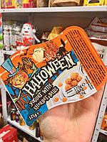 Halloween yogurt with sherbet balls