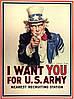 Плакат Дядя Сэм I want you for U.S. Army