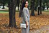 Женская кожаная сумочка 10 серебристый флотар 01100111, фото 4