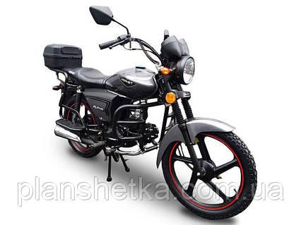Мотоцикл HORNET Alpha 125 куб.см, мокрый асфальт, фото 2