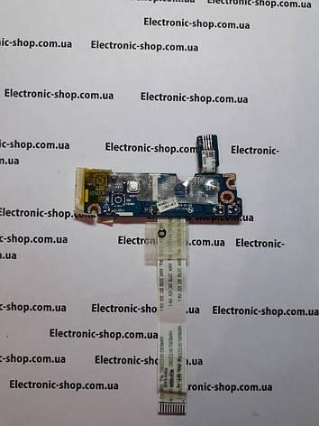 Плата с кнопкой включения Аcer new70 ls-5894P оригинал б.у, фото 2