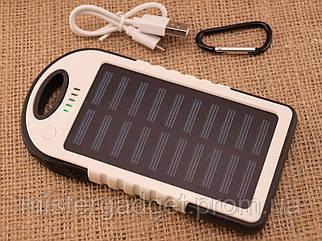 Павербанк Solar PowerBank 20000mah солнечная батарея