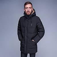 Мужская куртка зима 2018. Цвет - черный
