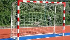 Сетка для мини-футбола D-2,5 мм, яч.12 см (футзальная, гандбольная) 2*3*1.1