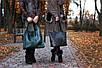 Женская кожаная сумка 12 темно-зеленый флотар, фото 3
