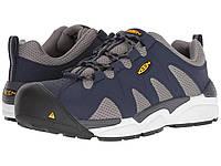 01dd3054e057 Ботинки Keen Utility San Antonio Aluminum Toe Navy Peacoat Grey Flanel -  Оригинал