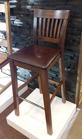 Стул барный деревянный со спинкой  Райнес  GOOD WOOD Рускополянский Мебельный Комбинат Явир, фото 2