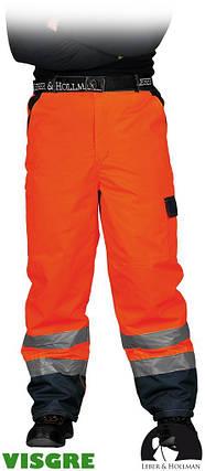Утепленные защитные брюки до пояса LH-VIBETRO CG, фото 2