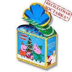 Сладкий новогодний подарок «Свинка Пеппа» 400 г.