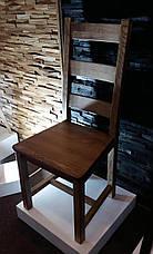 Стул из массива дуба Ladder (Леддер) GOOD WOOD Рускополянский Мебельный Комбинат Явир, фото 2