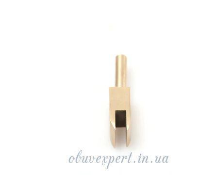 Насадка для паяльника латунная П-образной формы 5 мм для обработки уреза