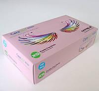 Перчатки нитриловые PREMIUM (3,5 г), Розовые (100шт/уп) Care365