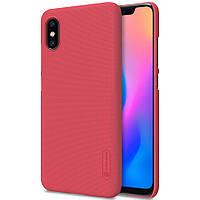 Чехол Nillkin Matte для Xiaomi Mi 8 Explorer (+ пленка) Красный