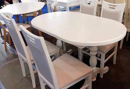 Стол кухонный овальный Гирне GOOD WOOD Рускополянский Мебельный Комбинат Явир, фото 2