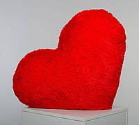 Плюшевая игрушка Mister Medved Подушка-сердце Красная 75 см, фото 1