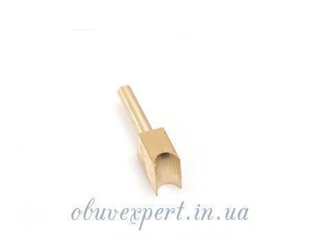 Насадка для паяльника латунная U-образной формы 3 мм для обработки уреза, фото 2
