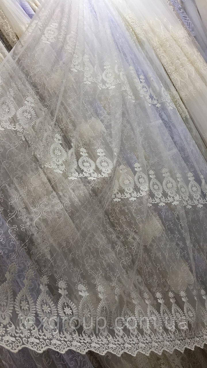 Тюль фатин крем IST-2716