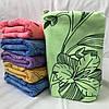 """Полотенца микрофибра. Метровое полотенце """"Лилия"""". Полотенце для лица и рук"""