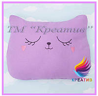Подушка игрушка котик 2018 с Вашим логотипом (под заказ от 100 шт), фото 1