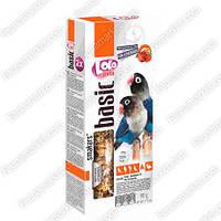 """Колосок фруктовый для птиц неразлучников """"basik"""" 90г. LoLo Pets™"""