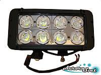 LED балка80 Ватт двухряднаянезаменимый вариант дополнительного освещения в ночное время., фото 1
