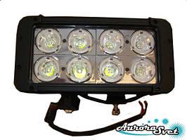 LED балка80 Ватт двухряднаянезаменимый вариант дополнительного освещения в ночное время.